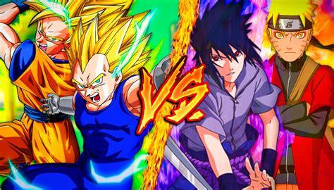 imagenes de naruto vs goku rap goku and vegeta vs naruto and sasuke www pixshark com