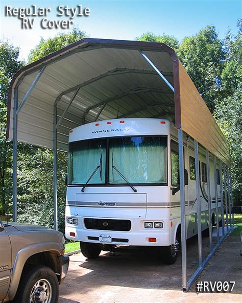 Rv Carports by Rv Carports Rv Covers Metal Rv Cover At Great Prices