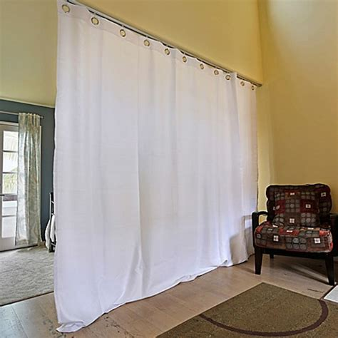 buy room dividers now small ceiling track room divider kit