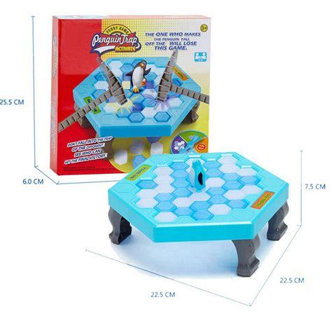 Family Save The Penguin Activate Trap Ketok Es Toys ᐂ2017 penguin trap ᗜ Lj breaker save penguin on on block family early