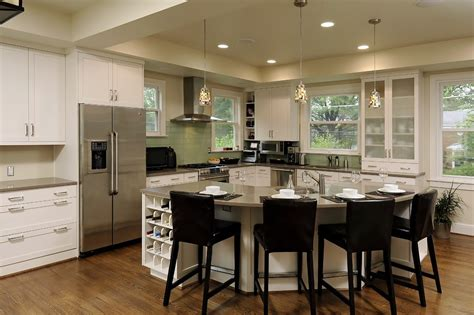 curved island kitchen designs ahmann llc