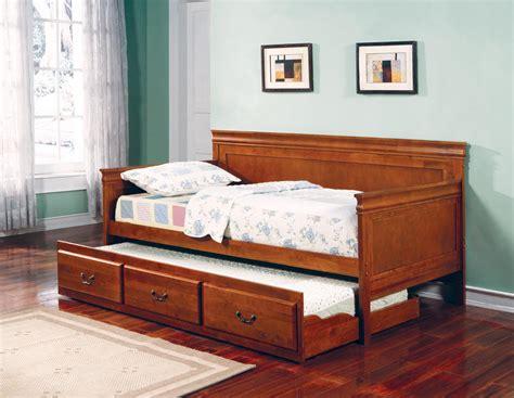 oak twin bed cs036 oak twin size bed 300036oak coaster furniture twin