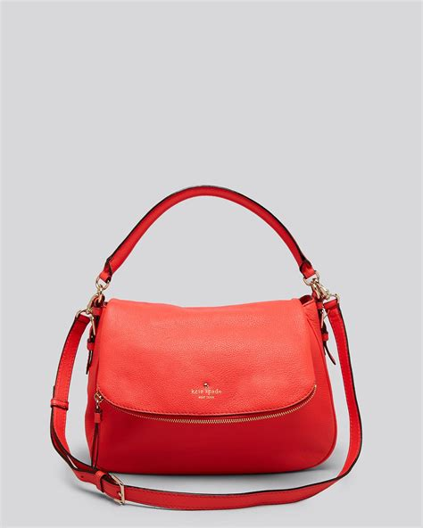 kate spade new york 1419717871 lyst kate spade new york crossbody cobble hill small devin in red