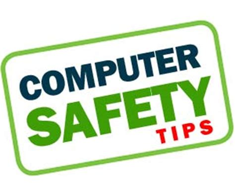 home computer safety tips