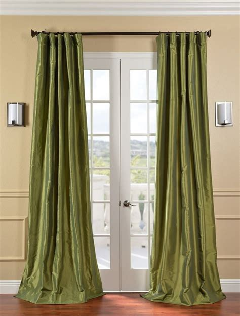 grey and lime curtains fern faux silk taffeta curtain sku ptch jtsp100 at