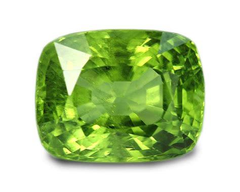 4 13 carats peridot gemstone cushion ebay