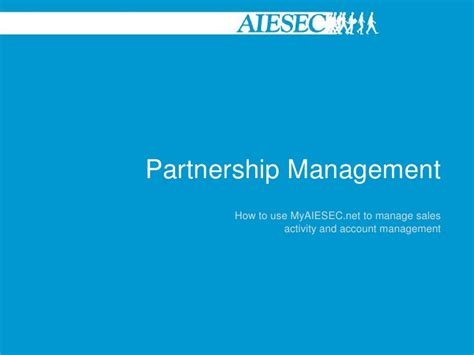 design management partnership partnership management