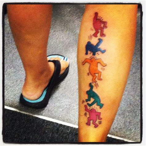 keith haring tattoo www imgkid com the image kid has it