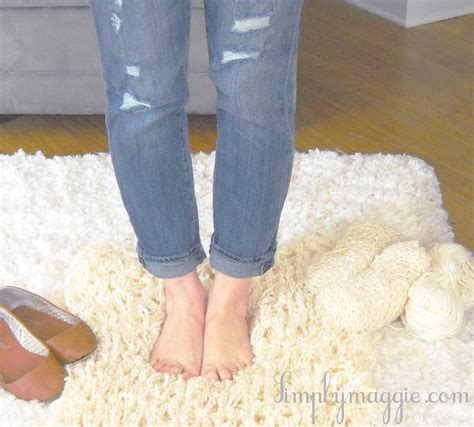 how to arm knit a blanket in one hour simplymaggie