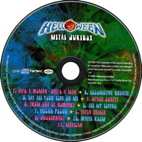 Kaset Helloween Metal Jukebox car 225 tula cd de helloween metal jukebox portada