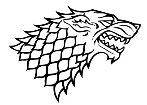 house of stark house stark sigil by dutchlion game of thrones
