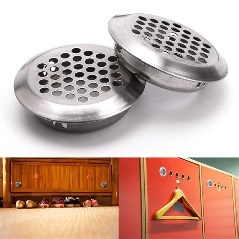 Cabinet Air Vents by 20 Pieces Cabinet Air Vent Louver Mesh Stainless