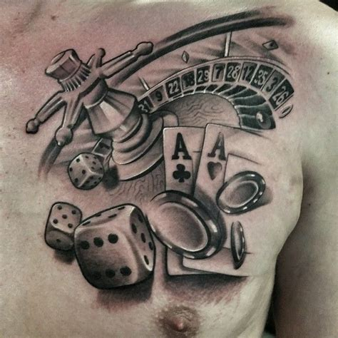 roulette table tattoo designs 43 best tattoos images on