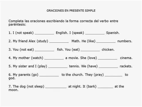 preguntas en pasado simple con verbos regulares en ingles escribe f 225 cil en ingl 233 s ejercicios propuestos presente simple