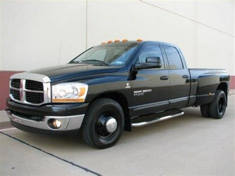 automobile air conditioning service 2006 dodge ram 3500 parking system sell used 2006 dodge ram 3500 dually 5 9l cummins quad cab big horn slt very clean in fort