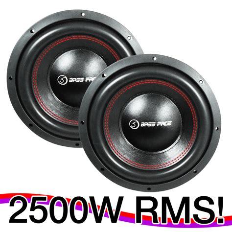 competition audio bass face 12 quot 30cm 2500w car audio subwoofers sq spl