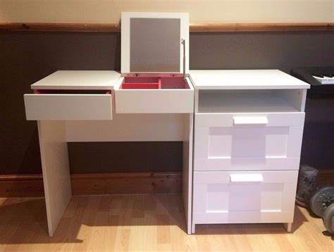 brimnes dressing table white ikea brimnes dressing table chest of 2 drawers white