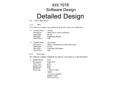 sdd template ieee gallery templates design ideas