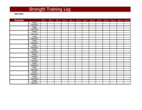 Weight Log Template by Best Photos Of Log Template Employee