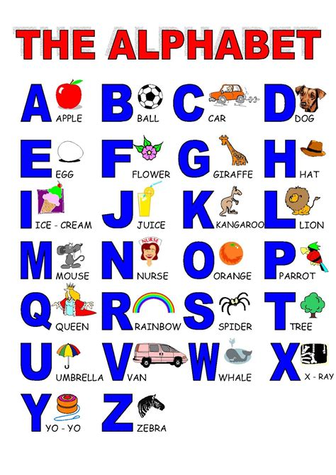 english alphabet themes yummy english for children alphabet activities