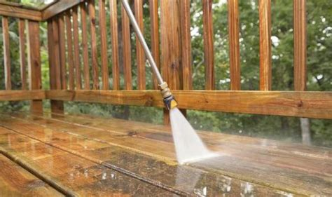 how to clean a patio with a pressure washer how to clean and maintain your garden patio and decking
