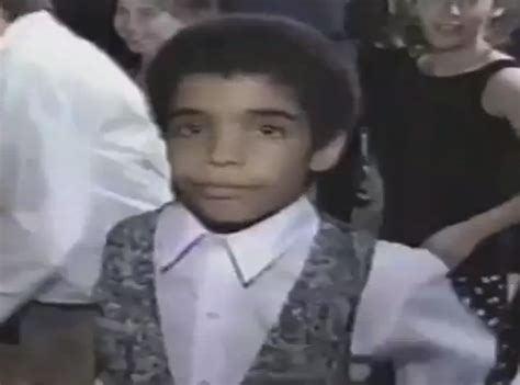 the year of drake as told by the memes gifs and videos this photo captures him as a sweet 13 year old boy at his