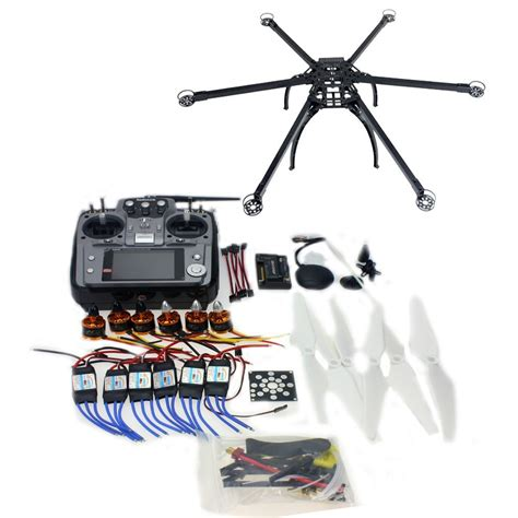 Drone Kit six axis hexacopter gps drone kit with 10ch tx rx apm flight controller f10513 g ebay