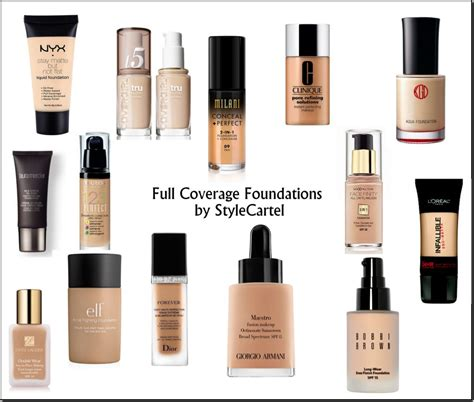 best foundation for coverage full coverage foundation top 5 high end drugstore