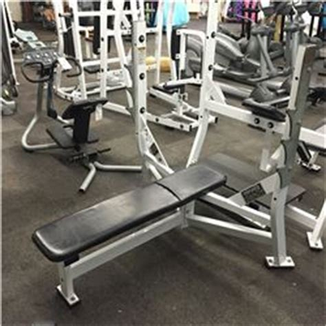 hammer strength flat bench hammer strength olympic flat bench press station able auctions