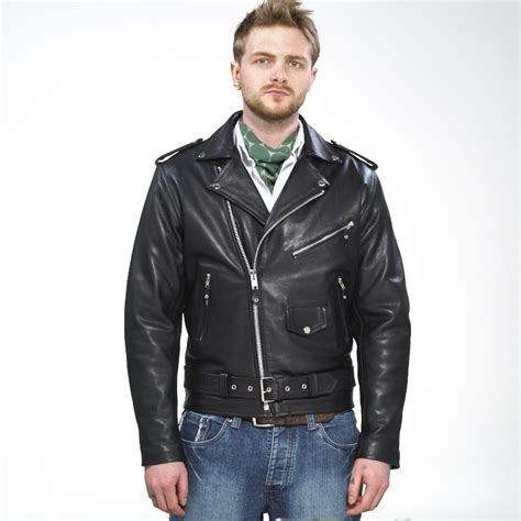 mens black leather motorcycle jacket mens brando leather biker jacket black leather biker jacket