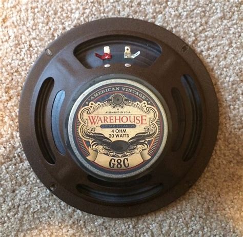 Speaker Woofer Elsound 5inch 80watt 8ohm wgs g8c speaker 20w 8 inch 4 ohm for ch etc