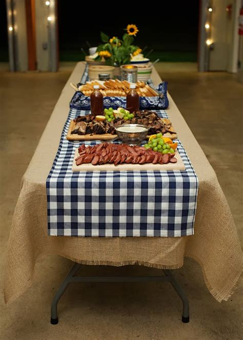 beer boots bbq beer boot gingham and burlap