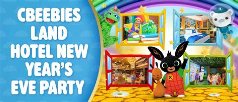 cbeebies new year cbeebies land hotel at alton towers resort now open