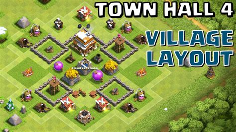 layout coc town hall level 4 clash of clans town hall level 4 base images impremedia net