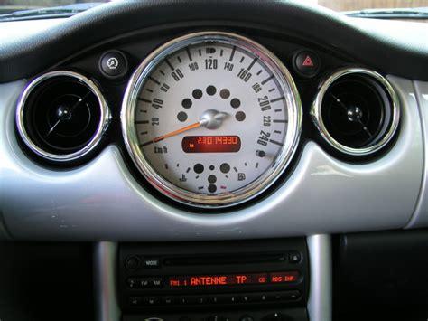 mini one interni mini one cooper s d r50 r52 r53 chrome interior