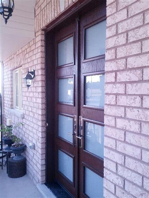 modern exterior doors toronto fiberglass doors custom modern double front entry doors