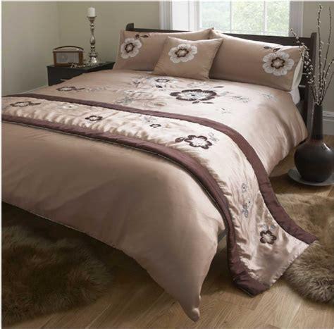 Bedcover Bonita 120x200 de cama bonita chocolate brown luxury duvet cover quilt bed in a bag 5 set ebay