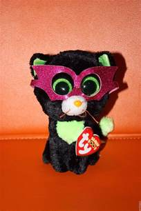 ty beanie boos 6 quot jinxy cat 2014 retired mwmt