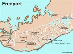 map freeport freeport las bahamas