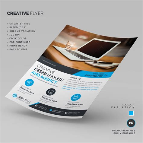 creative flyer templates free stylish creative flyer template 000212 template catalog