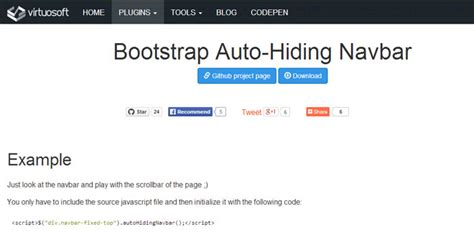 fixed top bar bootstrap web design archives web toasts