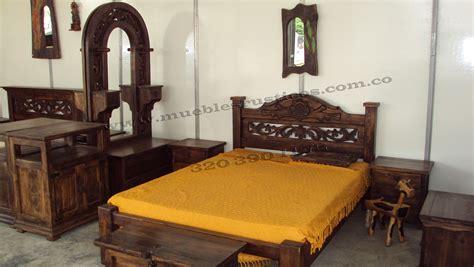 cama madera rustica todo maderas rustico  rusticas