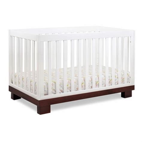 Two Tone Baby Cribs Modern Babyletto Modo 3 In 1 Two Tone Baby Crib M6701qw Free Shipping