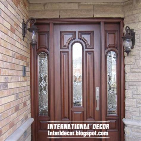 wooden door design classic wood doors designs colors wood doors with glass