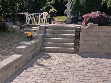paver patio drainage thurston county paver and drainage system installation