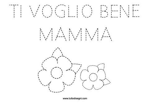 lettere sulla mamma scheda pregrafismo festa della mamma tuttodisegni