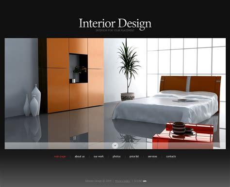 Chair Website Design Ideas Interior Design Swish Template 26710