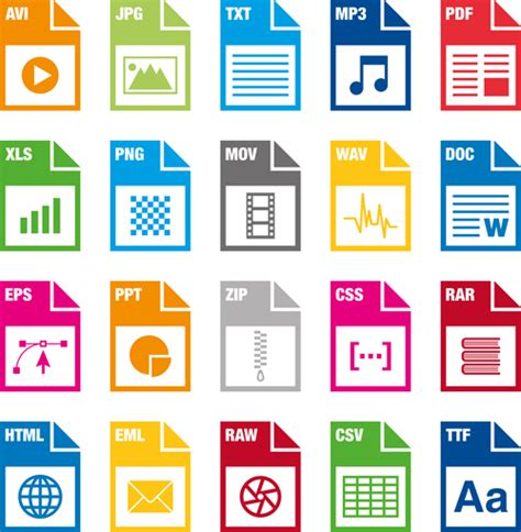 jpg to eps format creative file format icons vector graphics computer