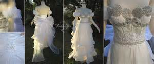sailor moon princess serenity gown by lillyxandra on