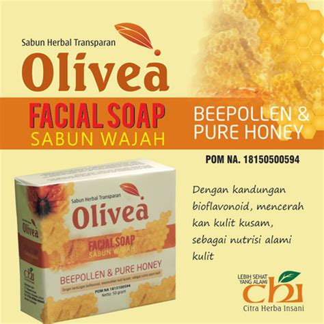 Sabun Honey olivea sabun wajah soap beepollen and honey